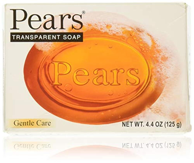 資金媒染剤ブラザーPears ソープジェントルケアトランスペアレント4.4オズ 1パック