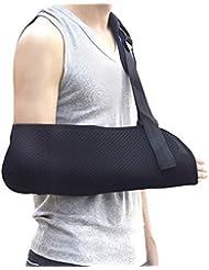 腕の吊り鎖 - 調節可能な肩ひもはひずみ、骨折、子供、大人のために適したのための軽量の 人間工学的の設計を固定しました