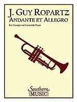 Andante et Allegro: For Trumpet or Cornet and Piano