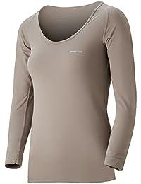 (モンベル)mont-bell ジオラインL.W.Uネックシャツ Women's 1107570 PKBG ピンクベージュ L