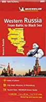 Western Russia - Michelin National Map 805 (Michelin National Maps)