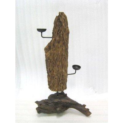 タイ製 木製オブジェ D (アジアンインテリア)