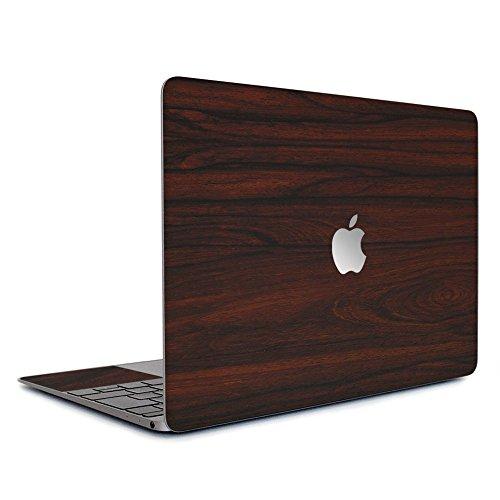 wraplus for MacBook Retina 12 インチ [ローズウッド] スキンシール フィルム ケース カバー