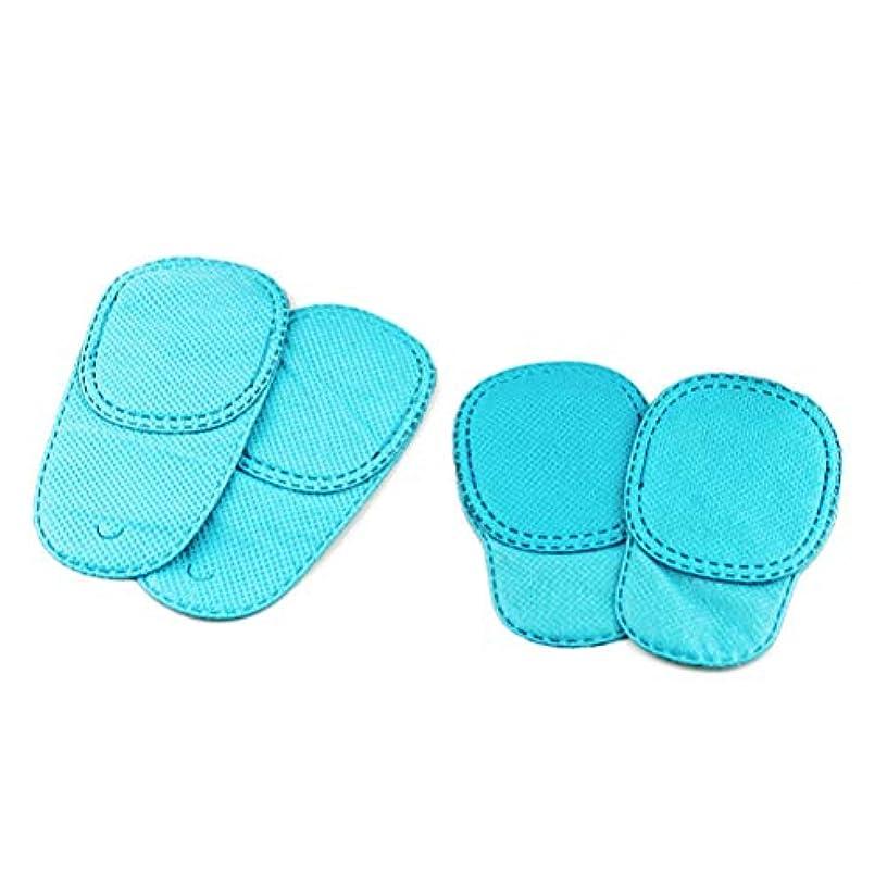 柔らかい足自分のためにアートHealifty 弱視用アイパッチ、キッズアイパッチ、斜視、子供用レイジーアイパッチLサイズとSサイズ各2個(ブルー)