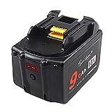 マキタ BL1830 18V 互換 バッテリー 9.0Ah Makita BL1890 9000mah 大容量電池%LED残量表示 DC18RC DC18RA 急速充電