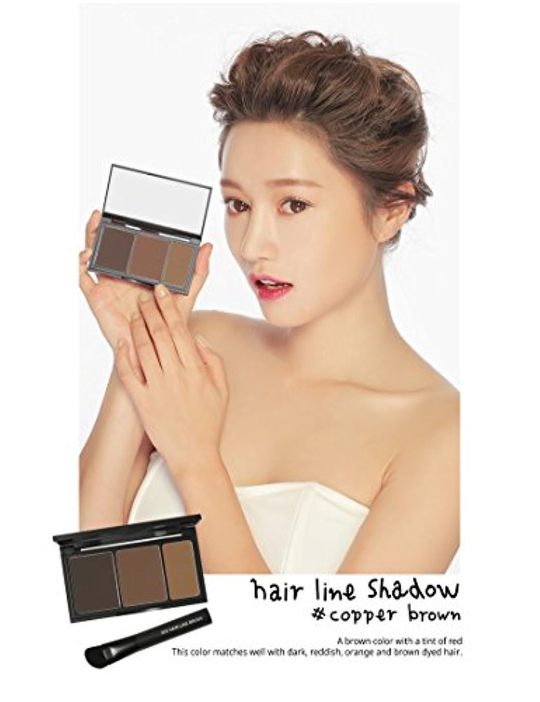 バレーボール世界記録のギネスブックブラザー3 Concept Eyes 3CE Hair Line Shadow ヘアラインシャドー(Copper Brown)