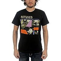 拒否された Refused Shape of Punk to Come Men's シャツ T-Shirt