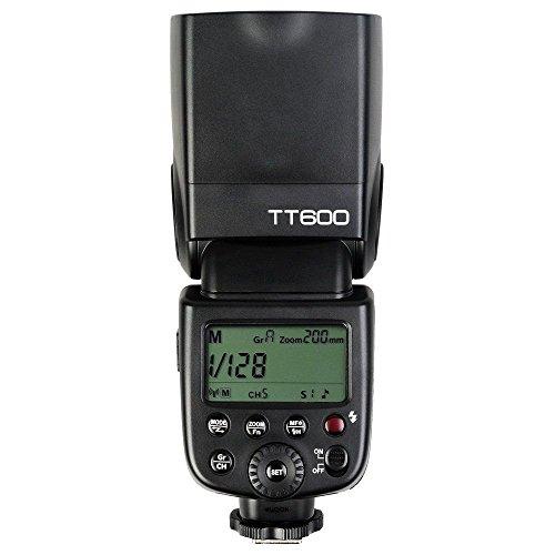 Godox TT600 ストロボ 内蔵2.4Gワイヤレス高速同期1/8000sカメラフラッシュスピードライト(キヤノン ニコン 富士 ペンタックス オリンパス 適用)