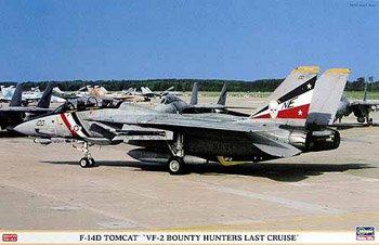 ハセガワ F−14 D トムキャット VF−2 バウンティ ハンターズ ラストクルーズ