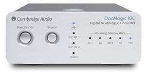 Cambridge Audio DacMagic 100 [Silver] ケンブリッジオーディオ 192kHz/24bit入力対応 USB DAC