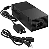 Ukor Xbox One Power Supply Brick, [Upgraded Version] Xbox AC Adapter Replacement Charger Power Cord Cable for Microsoft Xbox