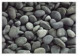 【ノーブランド品】天然玉砂利 フィリピン産 特撰那智 20kg (3分)