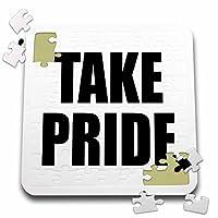 Tory Anneコレクション引用–Take Pride–10x 10インチパズル( P。_ 238506_ 2)