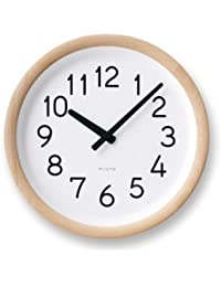 Lemnos Day To Day Clock ナチュラル PIL12-10 NT