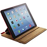 ELECOM iPad Air 2 ソフトレザーカバー 4アングルスタンドタイプ レッド TB-A14PLF2RD