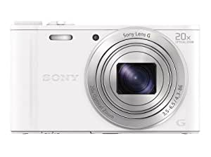 SONY デジタルカメラ Cyber-shot WX350 光学20倍 ホワイト DSC-WX350-W