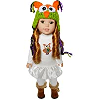 My Brittany's Fall Owl Outfit for Wellie Wishers Dolls