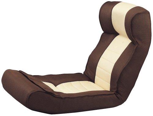 腰に優しい腹筋座椅子 ピュアフィット腹筋らくらく座椅子 PF2000 ブラウン