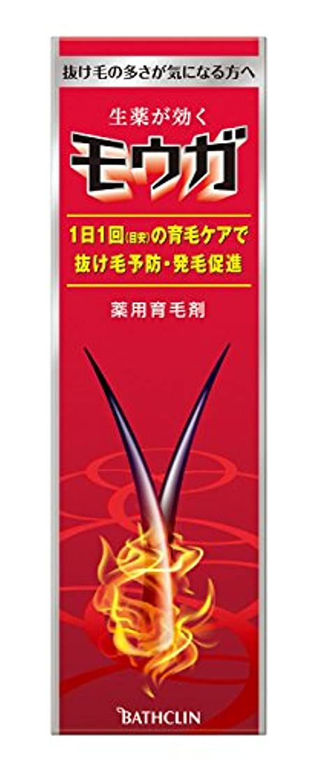 スピンリアル側面【医薬部外品】モウガ 育毛剤 120mL 男性向け