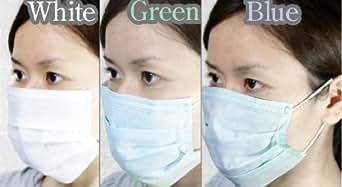 医療用マスク 使い捨て新種のウィルス対策 3層構造の優れもの サージカルマスク 50枚入り【ホワイト】
