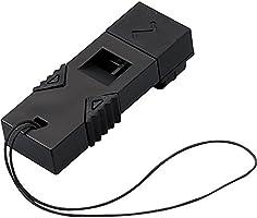 コクヨ 防災用救助笛 防災の達人 ツインウェーブ 黒 DRK-WS1D