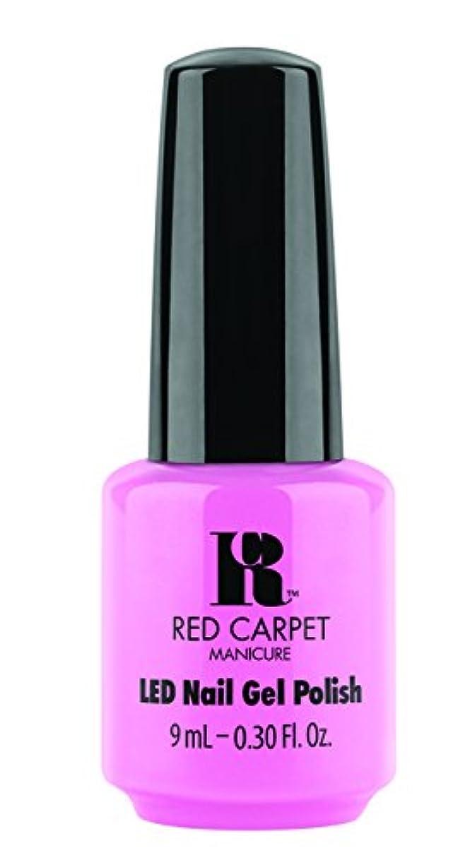社会科隙間ジャズRed Carpet Manicure - LED Nail Gel Polish - After Party Playful - 0.3oz / 9ml