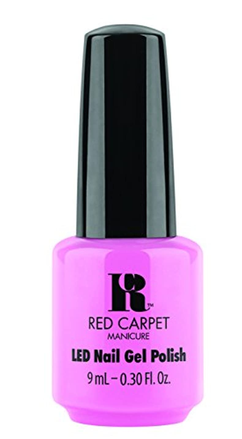 追い払う環境に優しいアルファベットRed Carpet Manicure - LED Nail Gel Polish - After Party Playful - 0.3oz / 9ml