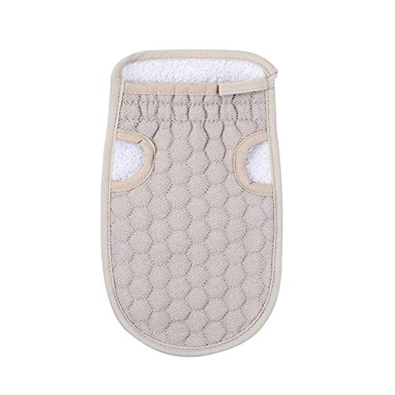 子供っぽい維持するリサイクルする浴用手袋 入浴用手袋 お風呂用手袋 角質除去 マッサージ ボディーグローブ 両面 繰り返し使用 バスタオル