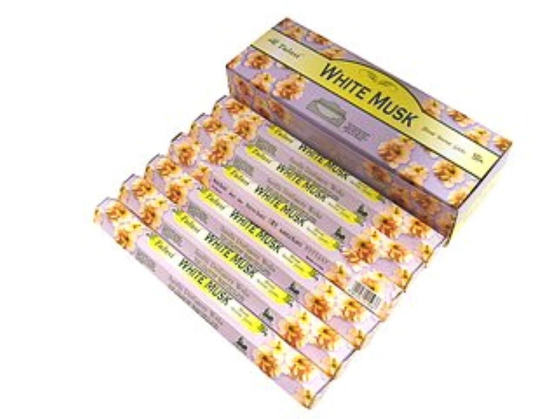 確立します勇気嘆願TULASI(トゥラシ) ホワイトムスク香 スティック WHITE MUSK 6箱セット