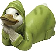 A Cheerful Giver Quackers Resting Duck Figurine