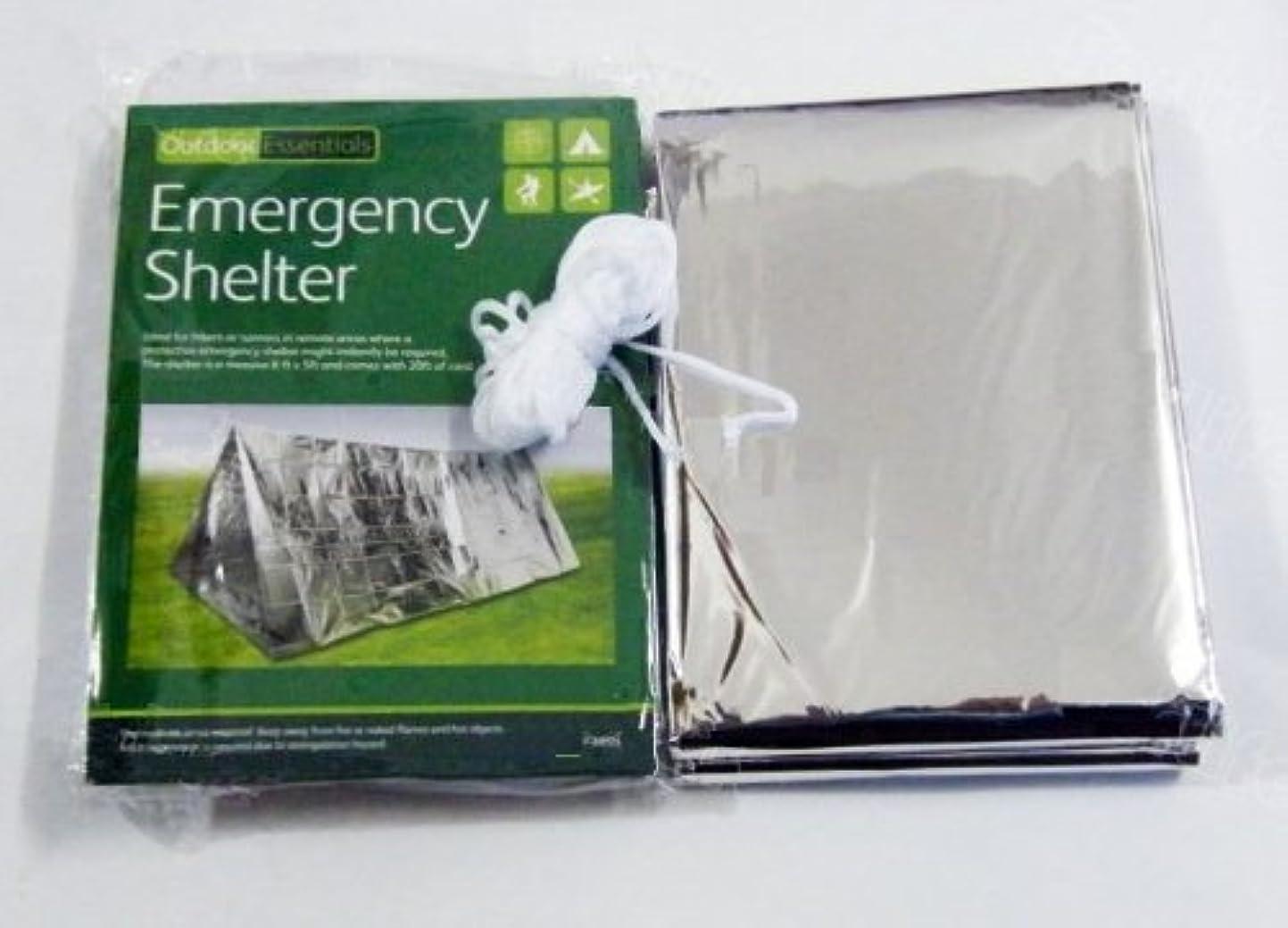 アプローチ物質ボルトエマージェンシーシェルター テント ツェルト 防水 断熱 奥行き約2.4m