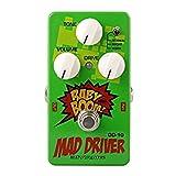 君のホームカザリ OD-10 Mad Driver Overdrive Guitar Effects Pedal OD-10 Mad Driver Overdriveギターエフェクターペダル (F)