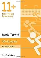 11+ Non-verbal Reasoning Rapid Tests Book 5: Year 6, Ages 10-11 (Nonverbal Reasoning Rapid Test)