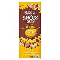 [Whitworths] Whitworthsはキャラメルショットにナット25グラムを塩漬け - Whitworths Salted Caramel Shots Nuts 25g [並行輸入品]
