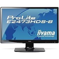 iiyama 23.6インチワイド液晶ディスプレイ フルHD対応 LEDバックライト搭載 電源内蔵 …