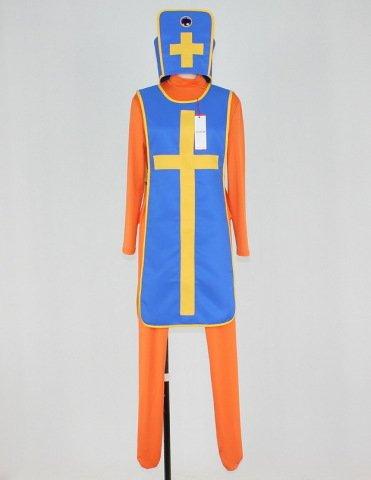 ドラゴンクエストIII・3(ドラクエ・DQ・Dragon Quest) 僧侶(女) ブーツカバー付き コスプレ衣装 女性S