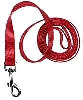 FidgetGear ニース1.5メートル/ 2メートル犬ペットハーネスリードロープ屋外牽引ロープウォーキングリードリード 赤