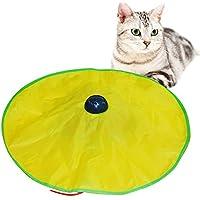 ixaer 猫 おもちゃ キャッチゲーム 電動玩具 ぐるぐる回転
