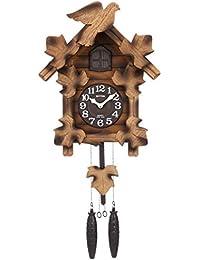 鳩時計 掛け時計 カッコーメイソンR 本格的ふいご式 リズム時計 4MJ234RH06
