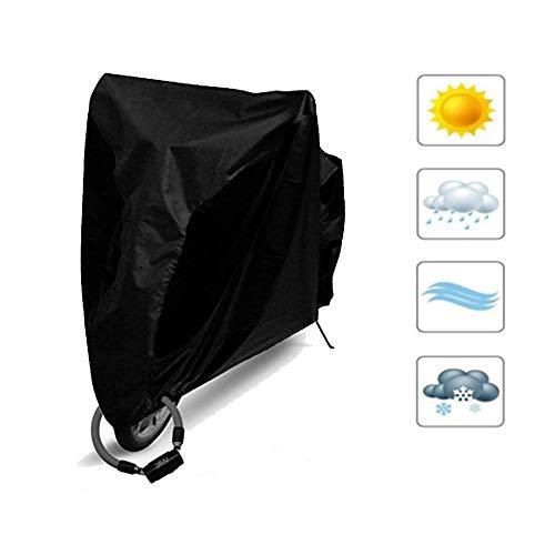 自転車カバー サイクルカバー 子供用 キッズ 厚手 防水 防犯 風飛び防止 破れにくい UVカット 収納袋付 雨・強風の日も安心 【3年間の保証】