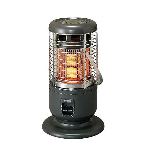 リンナイ (Rinnai) ガス赤外線ストーブ LPガス用 木造15畳/コンクリート21畳 R-1290VMSIII(A)-LP