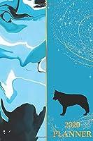 2020 Planner: 2020 Sunday Start Monthly Calendar and Organizer | Swiss Shepherd Gift for Women