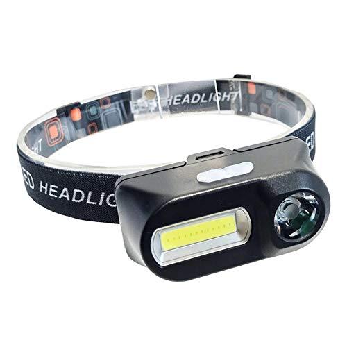 BLITZUヘッドライト 充電式ヘッドライト【スポットビーム+ワイドビーム/軽量】 IPX5防水 防災 登山等