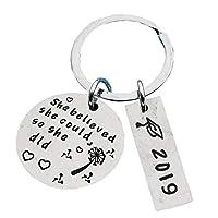 (ビグッド)Bigood キーホルダー キーリング デコレーション 贈り物 ギフト 誕生日 プレゼント アクセサリー 小物(#19)