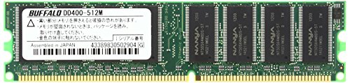 バッファロー BUFFALO DD400-512M PC3200(DDR400) DDR SDRAM 184P