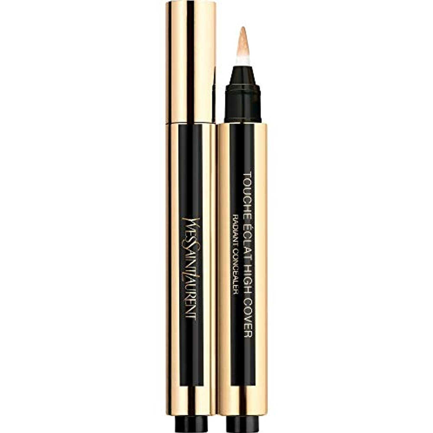 ファウル安西ビーチ[Yves Saint Laurent] イヴ・サンローランのトウシュエクラ高いカバー放射コンシーラーペン2.5ミリリットル3 - アーモンド - Yves Saint Laurent Touche Eclat High Cover Radiant Concealer Pen 2.5ml 3 - Almond [並行輸入品]