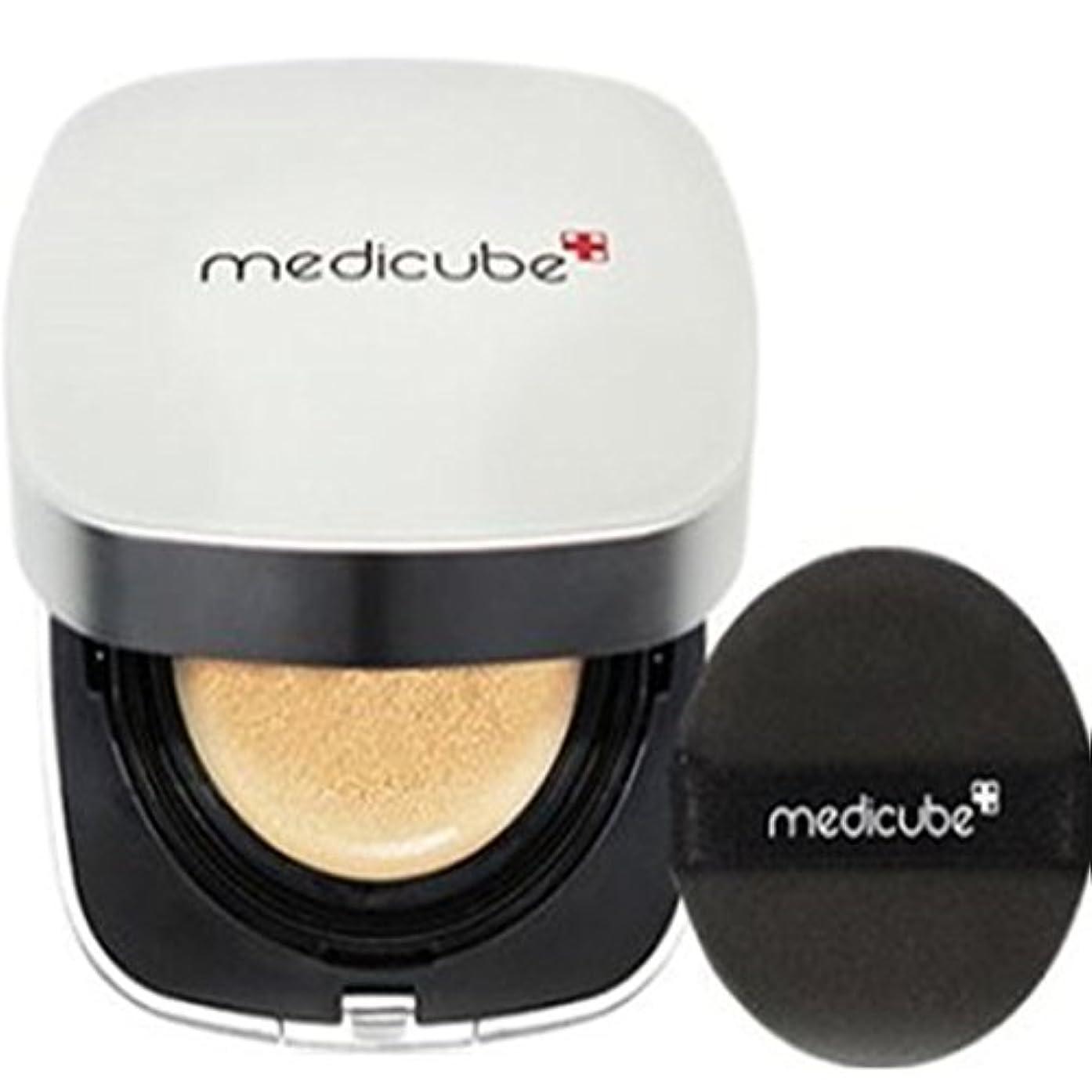 コイル怖いお酢[Medicube メディキューブ] レッドクッション - シェード21号ライトベージュ / Red Cushion - Shade 21 Light Beige [並行輸入品]