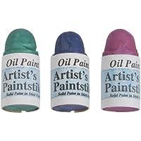 Jack Richeson Shiva Oil Paintstik, Jewel, Set of 3 by Jack Richeson