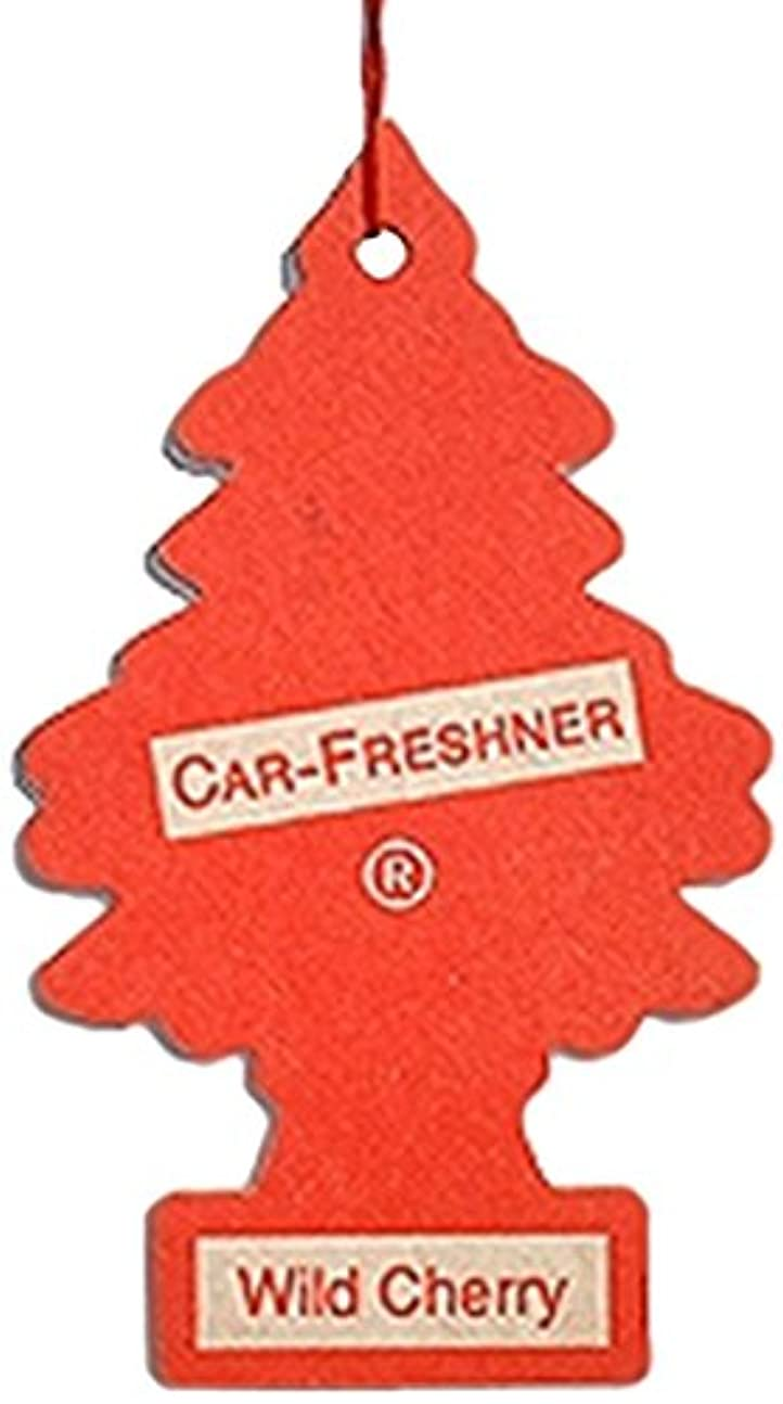 つまずくファックス解凍する、雪解け、霜解けLittle Trees 吊下げタイプ エアーフレッシュナー ワイルドチェリー 4枚セット(4P)
