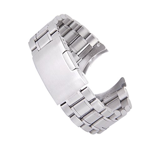 時計バンド 交換ベルトステンレス製 腕時計ストラップ 20m...